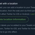 توییتر از اطلاعات مکانی دقیق شما باخبر است