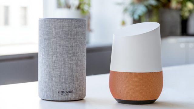 مقایسه دستیار صوتی گوگل و الکسا آمازون