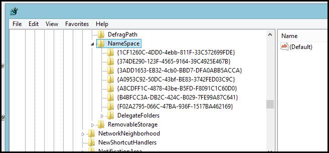 حذف فولدرهای اضافی This PC